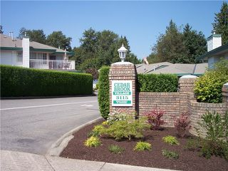 "Photo 19: 47 3115 TRAFALGAR Street in Abbotsford: Central Abbotsford Townhouse for sale in ""CEDARBROOK VILLAGE"" : MLS®# F1317322"