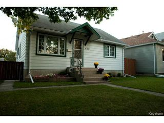 Photo 1: 430 Edgewood Street in WINNIPEG: St Boniface Residential for sale (South East Winnipeg)  : MLS®# 1318062