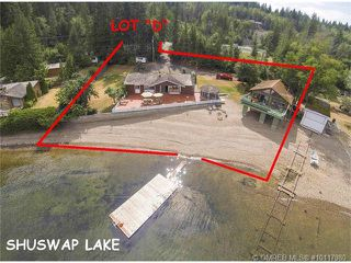 Photo 1: PL D 2639 Eagle Bay Road in Eagle Bay: Reedman Point House for sale : MLS®# 10117980