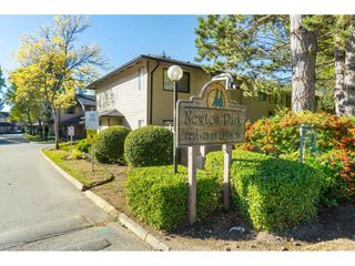 "Photo 1: 159 7269 140 Street in Surrey: East Newton Townhouse for sale in ""Newton Park"" : MLS®# R2504243"