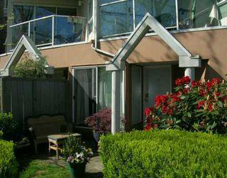 Photo 1: 110 2020 W 8TH AV in Vancouver: Kitsilano Condo for sale (Vancouver West)  : MLS®# V591554
