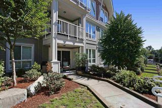 Photo 1: 209 6420 194 ST in Surrey: Cloverdale BC Condo for sale (Cloverdale)  : MLS®# R2103794