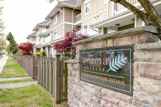 """Main Photo: 149 7388 MACPHERSON Avenue in Burnaby: Metrotown Townhouse for sale in """"ACACIA GARDENS"""" (Burnaby South)  : MLS®# R2481248"""