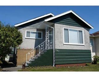 Photo 1: 1307 E 61ST AV in Vancouver: House for sale (South Vancouver)  : MLS®# V702859
