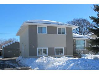 Photo 1: 1211 De Graff Place in WINNIPEG: North Kildonan Residential for sale (North East Winnipeg)  : MLS®# 1305134
