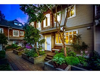 "Photo 1: 2856 E KENT Avenue in Vancouver: Fraserview VE Townhouse for sale in ""LIGHTHOUSE TERRACE"" (Vancouver East)  : MLS®# V1074402"
