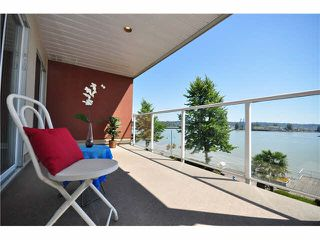 "Photo 1: 305 1230 QUAYSIDE Drive in New Westminster: Quay Condo for sale in ""TIFFANY SHORES"" : MLS®# V1077215"