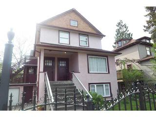 Photo 1: 1613 SALSBURY DR in Vancouver: Grandview VE House Triplex for sale (Vancouver East)  : MLS®# V1102758