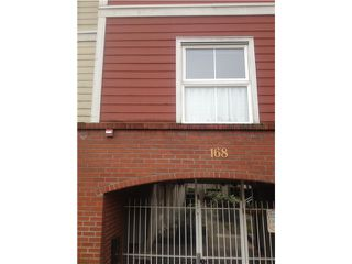 Photo 1: # 14 168 SIXTH ST in New Westminster: Uptown NW Condo for sale : MLS®# V1103239