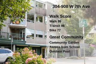 "Photo 22: 304 908 W 7TH Avenue in Vancouver: Fairview VW Condo for sale in ""LAUREL BRIDGE"" (Vancouver West)  : MLS®# R2495437"
