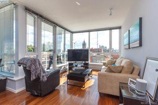 Photo 2: 607 834 Johnson St in VICTORIA: Vi Downtown Condo Apartment for sale (Victoria)  : MLS®# 823678