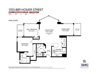 """Photo 35: 1703 889 HOMER Street in Vancouver: Downtown VW Condo for sale in """"889 HOMER"""" (Vancouver West)  : MLS®# R2484850"""