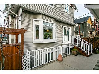 Photo 13: 1528 East Pender Street in Vancouver: Hastings House 1/2 Duplex for sale (Vancouver East)  : MLS®# V1043367