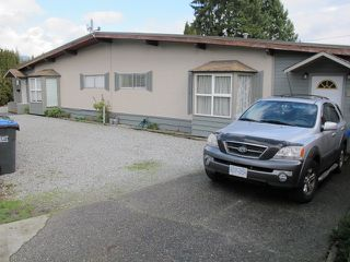 Photo 1: 3220 - 3224 CEDAR DRIVE in Port Coquitlam: Lincoln Park PQ House for sale : MLS®# R2037940