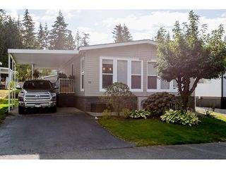 Photo 1: 93 2315 198 STREET in Langley: Brookswood Langley Manufactured Home for sale : MLS®# R2102906