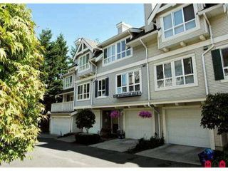 "Photo 1: 78 8844 208TH Street in Langley: Walnut Grove Townhouse for sale in ""MAYBERRY"" : MLS®# F1203954"