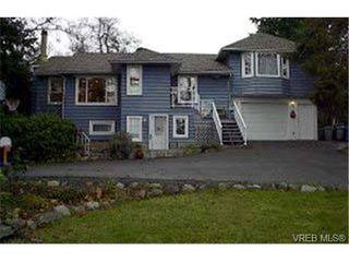 Photo 1: 1430 Simon Rd in VICTORIA: SE Mt Doug Single Family Detached for sale (Saanich East)  : MLS®# 305795