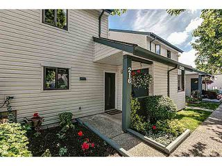 """Main Photo: 216 13628 67TH Avenue in Surrey: East Newton Townhouse for sale in """"HYLAND CREEK"""" : MLS®# F1416540"""