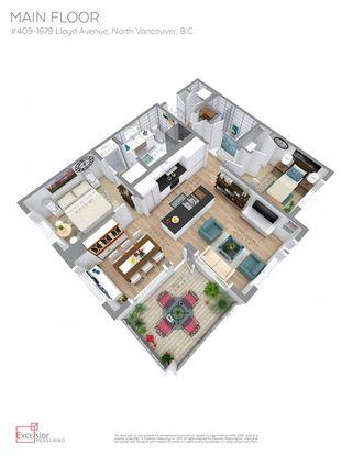 Photo 20: 409 1679 LLOYD AVENUE in North Vancouver: Pemberton NV Condo for sale : MLS®# R2147672