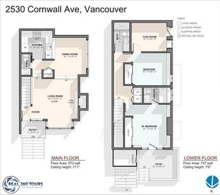 """Photo 20: 2530 CORNWALL Avenue in Vancouver: Kitsilano Townhouse for sale in """"NORTH OF 4TH AVENUE"""" (Vancouver West)  : MLS®# R2440158"""