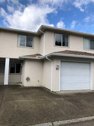 "Photo 1: 41 5536 VEDDER Road in Chilliwack: Vedder S Watson-Promontory Townhouse for sale in ""VEDDER LANE"" (Sardis)  : MLS®# R2462845"