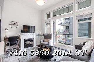 """Main Photo: 410 5650 201A Street in Langley: Langley City Condo for sale in """"PADDINGTON STATION"""" : MLS®# R2473018"""