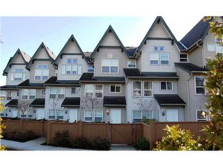 """Photo 1: # 4 -  1380 Citadel Drive in Port Coquitlam: Citadel PQ Townhouse for sale in """"CITADEL STATION"""" : MLS®# V953185"""