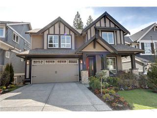 Photo 1: 3400 DERBYSHIRE AV in Coquitlam: Burke Mountain House for sale : MLS®# V1038193