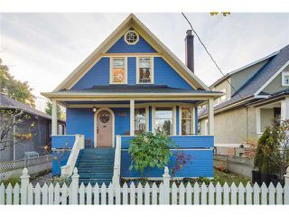 Photo 1: 3333 ASH ST in Vancouver: Cambie House for sale (Vancouver West)  : MLS®# V1093445