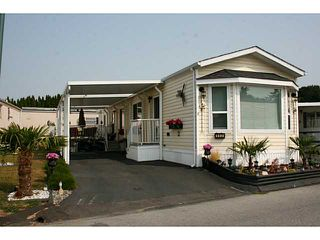 Photo 1: # 112 1840 160 ST in Surrey: King George Corridor Manufactured Home for sale (South Surrey White Rock)  : MLS®# F1446483
