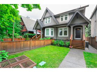 "Photo 1: 2632 W 6TH Avenue in Vancouver: Kitsilano House 1/2 Duplex for sale in ""Kits"" (Vancouver West)  : MLS®# V1074098"