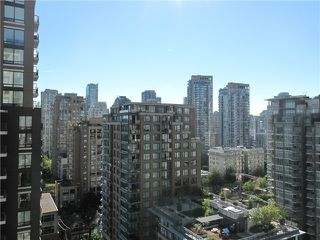 "Photo 15: 1807 1001 HOMER Street in Vancouver: Yaletown Condo for sale in ""The Bentley"" (Vancouver West)  : MLS®# V1076353"