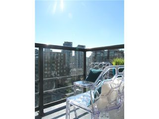 "Photo 14: 1807 1001 HOMER Street in Vancouver: Yaletown Condo for sale in ""The Bentley"" (Vancouver West)  : MLS®# V1076353"