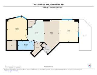Photo 40: 501 10504 99 Avenue in Edmonton: Zone 12 Condo for sale : MLS®# E4188573