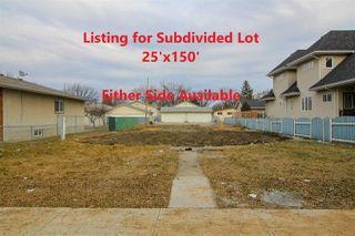 Main Photo: 12011 102 Street NW in Edmonton: Zone 08 Vacant Lot for sale : MLS®# E4198262