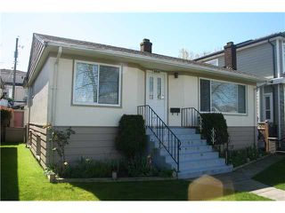 "Photo 1: 2590 E 25TH AV in Vancouver: Renfrew Heights House for sale in ""RENFREW HEIGHTS"" (Vancouver East)  : MLS®# V1000792"