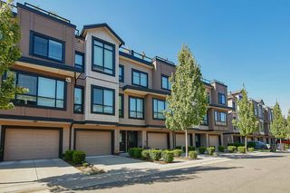 Photo 1: 28 100 WOOD Street in New Westminster: Queensborough Townhouse for sale : MLS®# R2393047