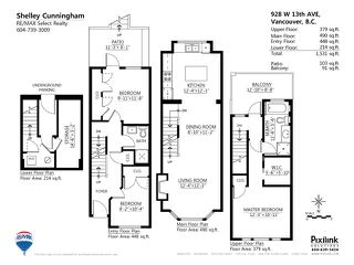 Photo 10: 928 W 13TH AV in Vancouver: Fairview VW Townhouse for sale (Vancouver West)  : MLS®# V1051000