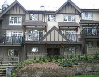 Photo 1: 10 2200 Panorama Drive in Port Moody: Heritage Woods PM Townhouse for sale