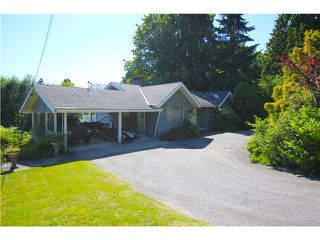 Photo 1: 1276 IOCO Road in Port Moody: North Shore Pt Moody House for sale : MLS®# V1074057