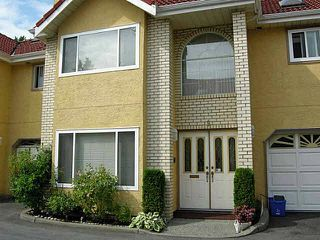 Main Photo: 9 8231 FRANCIS Road in Richmond: Garden City Townhouse for sale : MLS®# V1082324