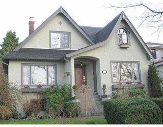 Photo 1: 4742 COLLINGWOOD Street in Vancouver: Dunbar House for sale (Vancouver West)  : MLS®# V625247