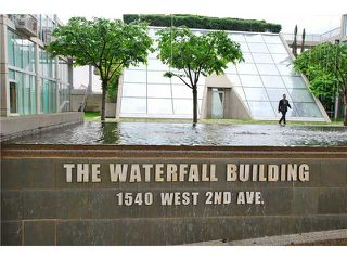 "Photo 8: 203 1540 W 2ND Avenue in Vancouver: False Creek Condo for sale in ""WATERFALL BUILDING"" (Vancouver West)  : MLS®# V954778"