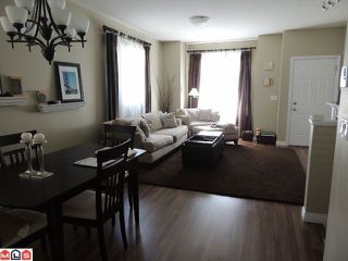 "Photo 2: 54 8655 159TH Street in Surrey: Fleetwood Tynehead Townhouse for sale in ""SPRINGFIELD COURT"" : MLS®# F1218324"
