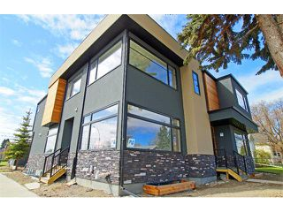 Main Photo: 2011 2 ST NW in Calgary: Mount Pleasant Attached for sale : MLS®# C4011219