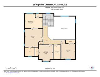 Photo 49: 26 HIGHLAND Crescent: St. Albert House for sale : MLS®# E4207499