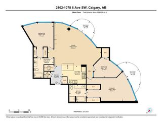 Photo 40: 2102 1078 6 Avenue SW in Calgary: Downtown West End Apartment for sale : MLS®# A1059914
