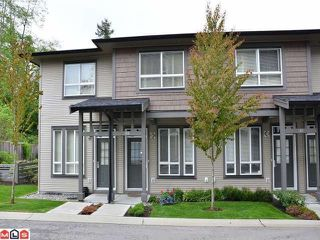 "Photo 1: 109 2729 158TH Street in Surrey: Grandview Surrey Townhouse for sale in ""Kaleden"" (South Surrey White Rock)  : MLS®# F1211741"