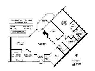 Photo 1: # 224 5695 CHAFFEY AV in Burnaby: Central Park BS Condo for sale (Burnaby South)  : MLS®# V1082287