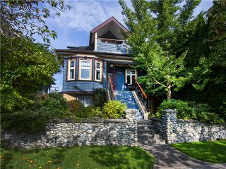 Main Photo: 1737 E 2ND AV in Vancouver: Grandview VE House for sale (Vancouver East)  : MLS®# V1098218